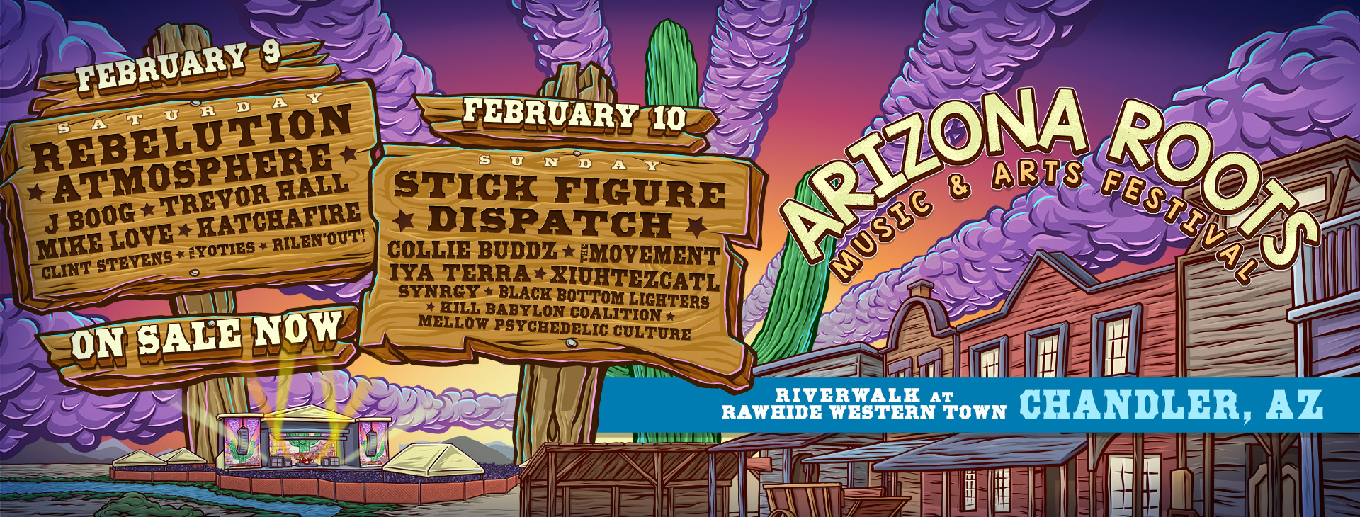 5 Arizona Music Festivals You Can't Miss